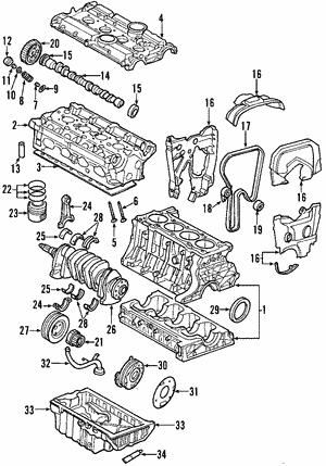 Shop OEM Engine Parts | Lehman Volvo Parts | Volvo V40 Engine Diagram |  | Volvo Parts