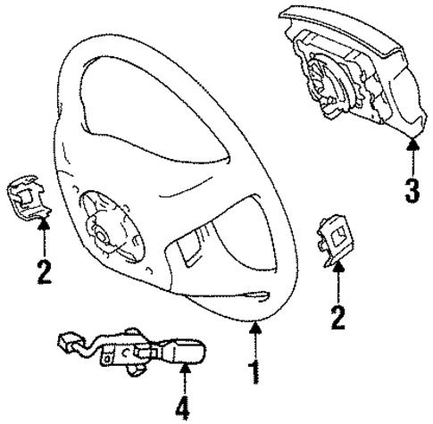 Chevy Prizm Steering Column Diagram