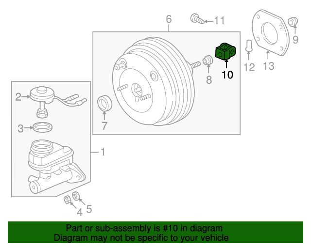 yoke, push rod (nissin) - honda (46151-sb2-003)