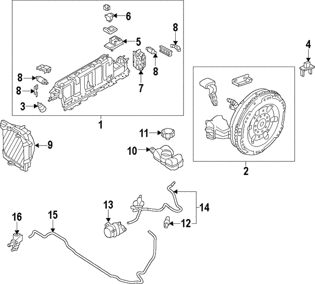 Water Pump - Volvo (31338384)
