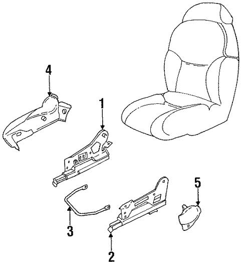Tracks Components For 2000 Chevrolet Lumina