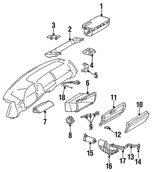 Instrument Panel For 1998 Mercedes Benz Cl 500