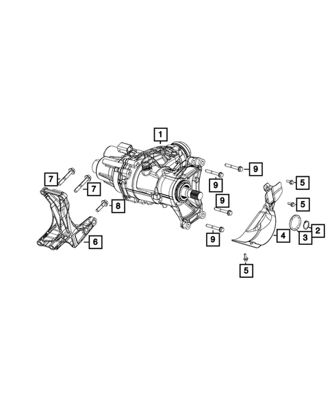 Power Transfer Unit Assembly for 2015 Jeep Renegade #0