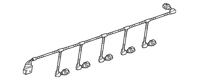 volkswagen wire harness  7p6