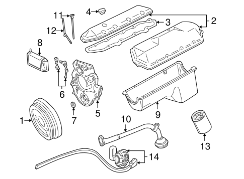engine parts for 2000 ford excursion