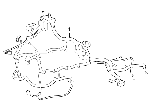 Wiring Harness For 2007 Chrysler Aspen