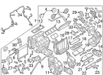 AC & Heater Assembly - Infiniti (27110-1MA2E)
