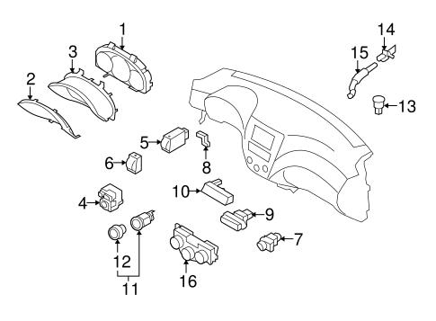 Controls For 2011 Subaru Forester