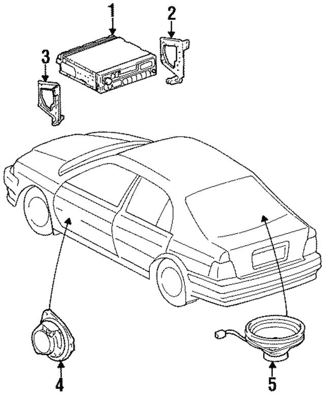 Car Radio Speaker