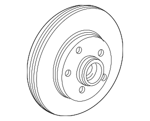 Rotor - Ford (3L5Z-1125-AB)