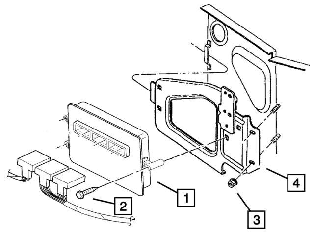 Mopar Module Powertrain Control Rl094606af