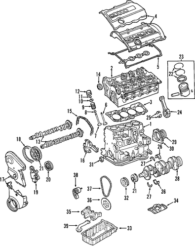 Engine For 2006 Audi A4