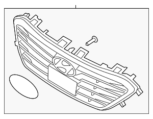 Grille Assembly - Hyundai (86350-C2300)