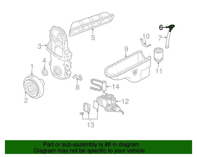 GM 12550885 Genuine OEM Express Savana P30 Engine Oil Level Dipstick Indicator