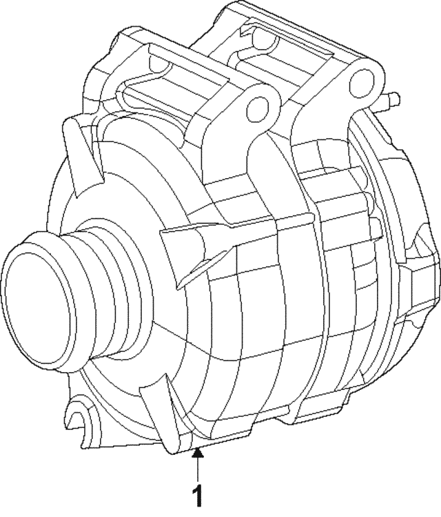 Alternator - Mopar (56029740AA)