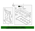 Engine Valve Cover Washer Seal - Ford (BR3Z-6C535-B)