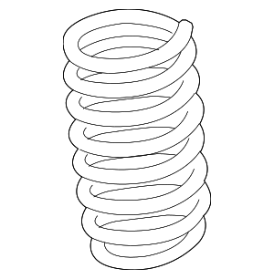 Coil Spring - BMW (31-33-6-794-634)