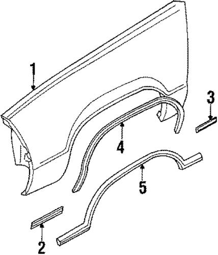 Oem Fender Amp Components For 1986 Chevrolet El Camino