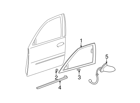 Outside Mirrors for 2005 Cadillac DeVille #0