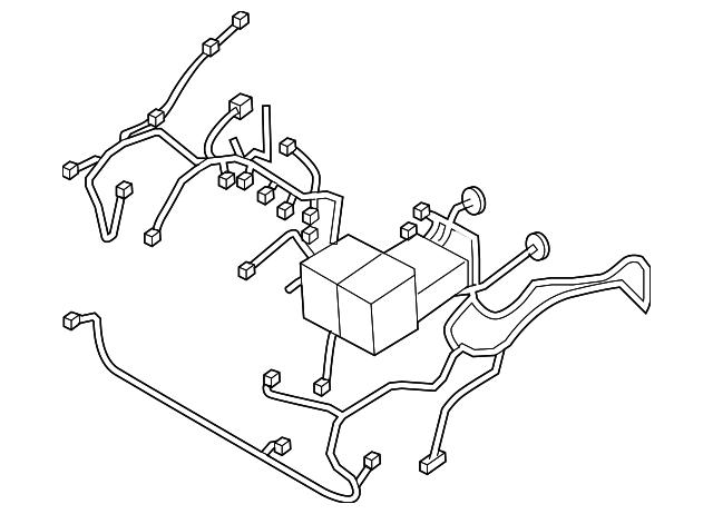 engine harness - gm (96867866)