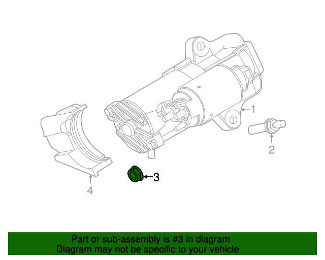 Ford F150lincoln Mark Lt Alternator M8 X 125 Nut: Lincoln Mark Lt Engine Diagram At Freddryer.co