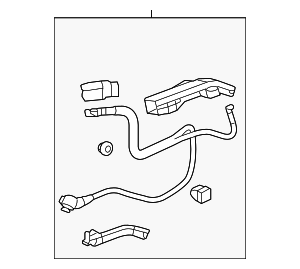 Cable Assembly, Starter - Honda (32410-TA0-A10)