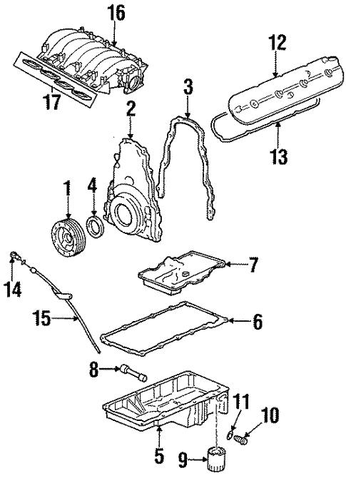 Engine Parts For 2000 Pontiac Firebird