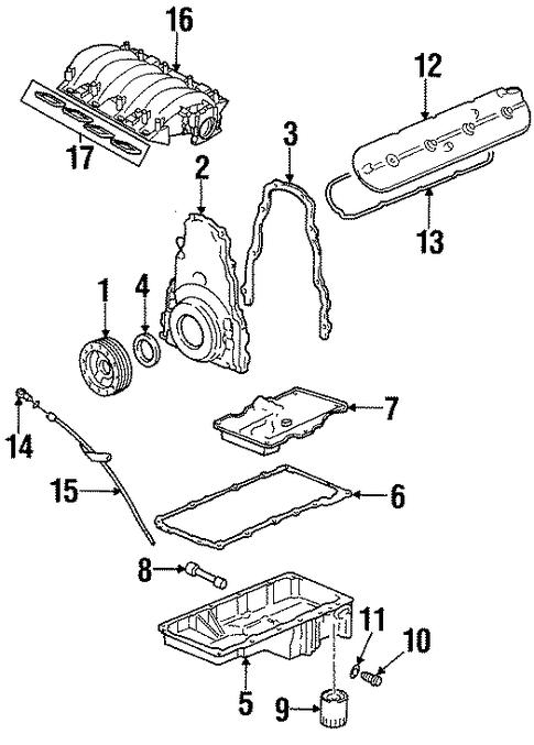 oem 1998 pontiac firebird intake parts