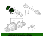 Cv Joint Boot Kit - BMW (33-21-9-067-818)