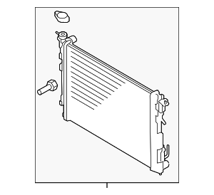 Radiator Assembly - Kia (25310-3W000)