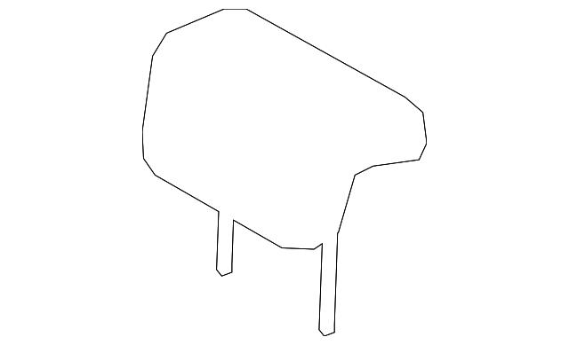 TOYOTA Genuine 71940-08051-B1 Headrest Assembly