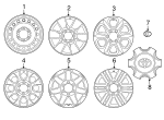 Wheel, Alloy - Toyota (42611-35540)