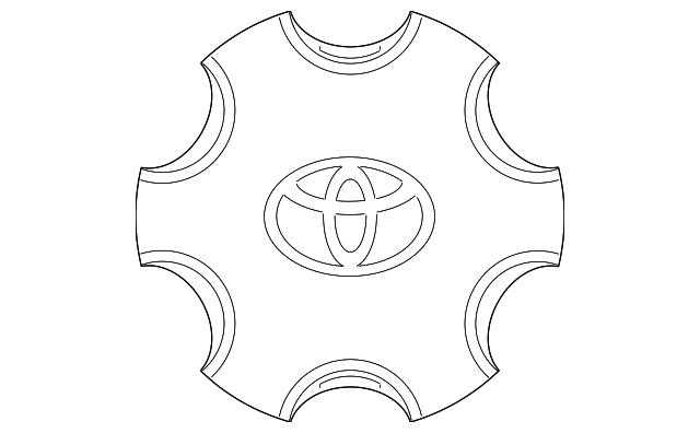 Center Cap Toyota 4260b 35030 Camelback Toyota