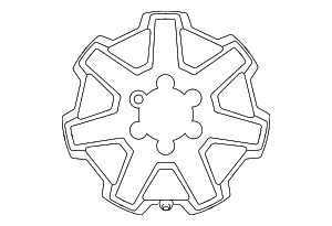 Wheel, Alloy - Toyota (42611-35580)