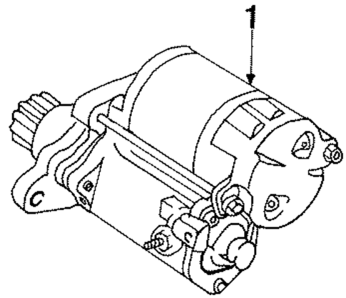 ELECTRICAL/STARTER for 1999 Toyota Celica #1