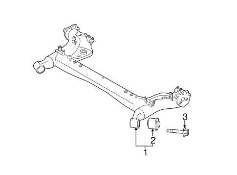 Rear Suspension for 2012 Mazda 2 #0