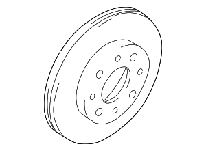 Disc Brake Rotor - Hyundai (51712-38300)