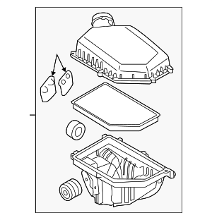 Air Cleaner Assembly - Volvo (31319684)