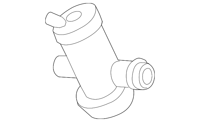 MERCEDES-BENZ 0014701393 GENUINE OEM SHUT-OFF VALVE