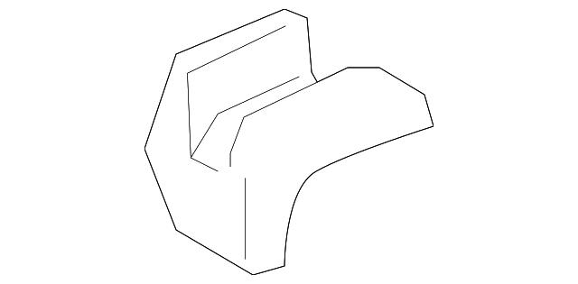 TOYOTA 79967-0R010-B0 Seat Leg Cover