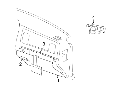 Glove Box For 2003 Dodge Ram 1500