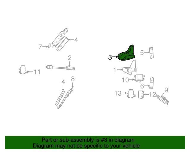Antenna assembly cover mercedes benz 212 827 02 28 9799 for Mercedes benz antenna cap
