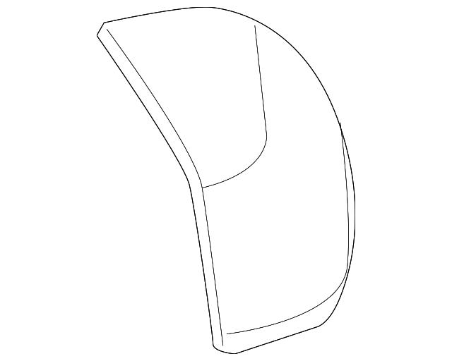 2012 2014 Honda Cr V 5 Door Cap R Skull Nh737m Polished Metal