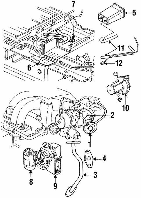 Egr System For 1999 Dodge Caravan