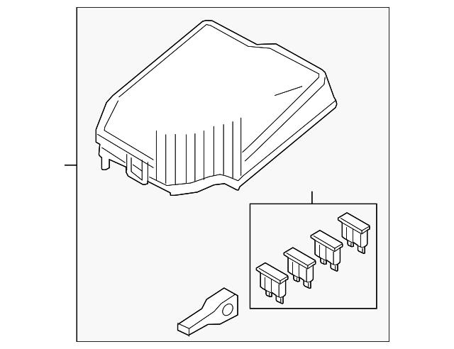 cover main fuse block