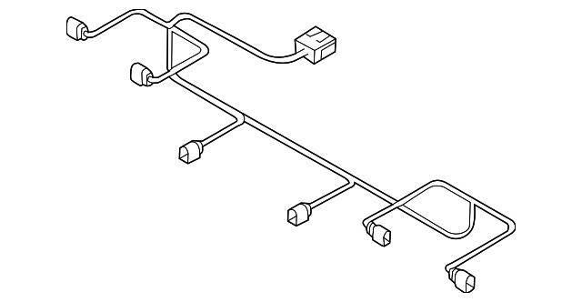 audi wire harness  4g8