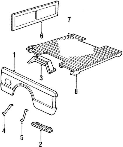1989 Chevy Van Parts