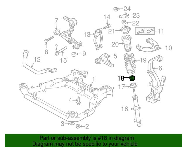 Strut Bumper - Mazda (GS3L-34-111) | Quirk Parts