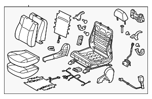 Seat Assembly - Toyota (71010-04250-B5)