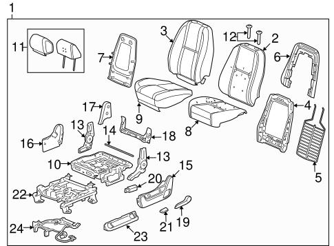 seat track gm 22804418 gm outlet parts. Black Bedroom Furniture Sets. Home Design Ideas